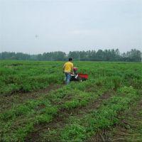柴油多行益母草大豆收割机小四轮安装薄荷艾草收割机