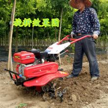 柴油式大马力开沟机/多功能蔬菜种植旋耕机/双齿轮箱微耕机价格