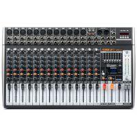 狮乐专业16路调音台 天琴九号99种DSP数字效果KTV舞台演出设备数字效果器