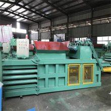 120吨全自动卧式液压打包机 废纸箱塑料瓶编织袋打包机生产厂家