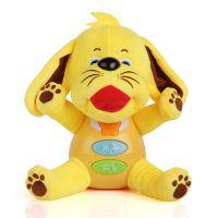 灯光音乐动物玩偶安抚玩具 新生婴儿0-3岁宝宝睡眠安抚玩具