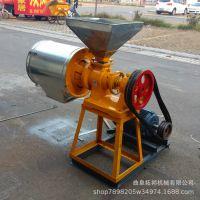 小麦去皮磨面机  家用小麦磨面机 高粱玉米磨粉机 多功能面粉机