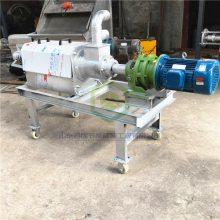 环保固液干湿分离机价格 厨房垃圾挤水机 小型牧场粪便固液分离机