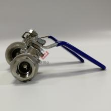 SUS304不锈钢球阀 佛山丝扣球阀 2片式DN20球阀