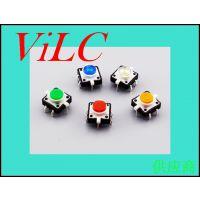 12x12带灯按键开关-轻触带灯开关-等色多样-威联创供应