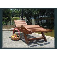 供应兰州酒店泳池躺椅 豪华户外沙滩椅