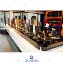 大型展览展会产品展示柜_转盘式动态展示设备_广州昱洋旋转机械专业制造