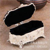 创意定制卡通公主纪念珠宝盒 小型家居装饰品礼品盒 锌合金工艺品