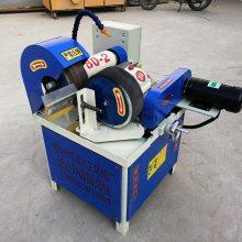 小型自动外圆钢管除锈机 新型无心外圆拉丝机 生产环保圆管去毛刺机任邦机械