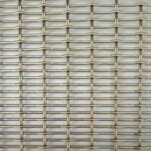 不锈钢装饰网厂家 不锈钢金属帘正规厂家 螺旋金属网帘零售 酒店装饰网