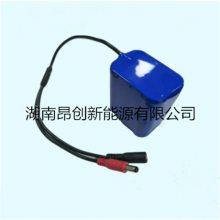 供应LED移动照明灯专用锂电池、LED灯具专用7.4V6600MAH锂电池组