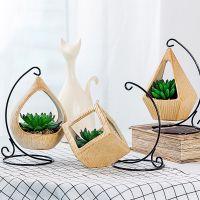 一件代发创意北欧仿真多肉组合植物盆栽家居客厅假花绿植装饰盆景