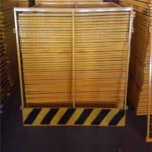 基坑防护栏杆厂家 基坑四周护栏 检修隔离栏杆