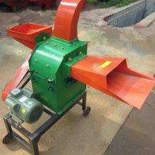 养殖户青储饲料粉草机 家用电动小型饲料粉碎机 花生秧粉碎机