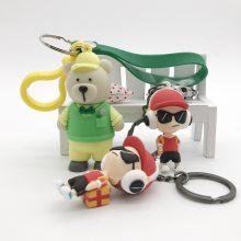 厂家定制PVC软胶礼品挂件 广告推广赠品 立体公仔钥匙扣
