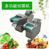 热销多功能不锈钢切菜机 企业餐厅用蔬菜切片机 商用小型电动切菜机