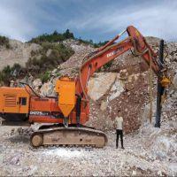 中德科工挖改钻 挖机改钻机 挖掘机改液压钻机厂家联系电话