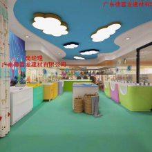 婴儿游泳区迷彩蓝天白云灯箱铝单板'德普龙'促销生产