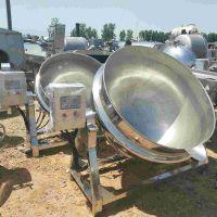 转让二手夹层锅200升500升电加热夹层锅