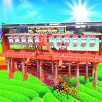 亚博国际真实吗机械四垄两行娃娃菜精播机 汽油8行高粱播种机 谷子精播机