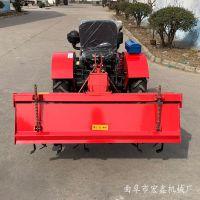爬坡四驱拖拉机 小机身20马力四轮旋耕机 果园低矮四轮管理机