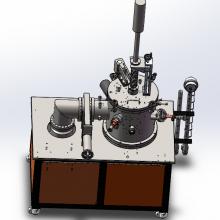 接触角测试专用真空烧结炉小型真空钼丝炉