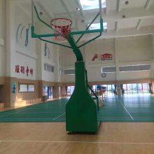 湖南益阳室外篮球架 可移动篮球架安装 箱体篮球架厂家
