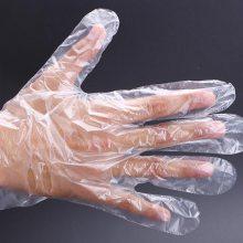 pe材料一次性使用薄膜手套生产加工厂家