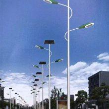 高低 双臂 太阳能路灯6米30瓦8米60瓦新农村建设LED太阳能路灯