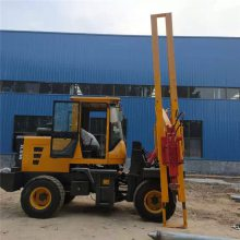 厂家直销波形护栏打桩机高速波形护栏打桩拔桩一体机