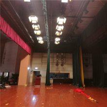 西藏舞台幕布厂家定做剧院会场电动舞台幕布拉萨舞台幕布供应