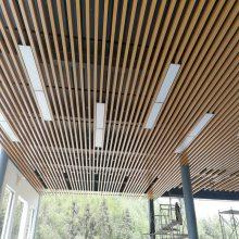 商场吊顶天花U型铝方通装饰定制厂家