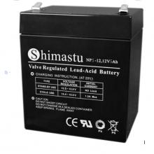 Shimastu蓄电池NP9-12 12V9AH美国原装进口电池 直流屏 EPS电源柜