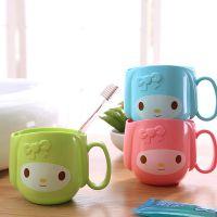 新款热销创意卡通儿童塑料杯 创意家居生活用品实用漱口杯刷牙杯