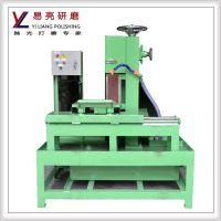 垂直平面水磨环保砂带机自动打磨降温 调速型表带拉丝机/抛光机