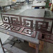四川铝雕花屏风厂家 古铜色镂空隔断铝屏风