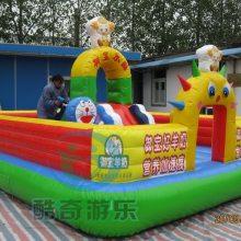 幼儿园蹦床小型亚博网城堡定做