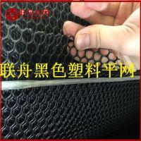 【联舟】今日价格黑色塑料平网 出口品质塑料胶网