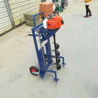 亚博国际真实吗机械 农用果树挖孔机 拖拉机树坑机钻孔机 8马力汽油手提式钻孔机厂家