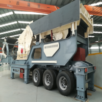 移动石料破碎机维护保养 恒美百特移动碎石机生产线