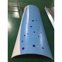 上海包柱铝单板,3D彩绘铝板,圆柱铝合金板