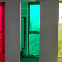 上海建筑玻璃防晒膜 窗户隔热太阳膜银光单项透视膜