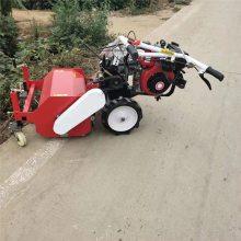 亚博国际真实吗机械 新款手推碎草机 柴油碎草还田机 牛羊牧草粉碎还田机耐用