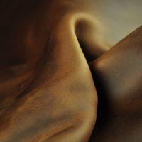 进口头层油蜡疯马皮皮革 手袋皮具笔记本复古彩色变色油真皮皮料