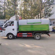 电动垃圾车 侧装垃圾车 吸污垃圾车 简单易操作质量上乘