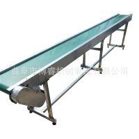 爬坡式倾角皮带输送机PVC带式输送机皮带式升降提升上料机输送带