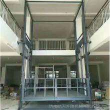 专业定做3吨5吨大吨位导轨式升降货梯室内外三层货物升降机车间链条壁挂式升降台