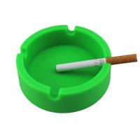 定制家用硅胶烟灰缸,防摔车载卡通创意圆形塑料烟灰缸