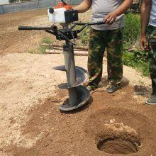 电线杆立柱植树挖坑机便携式螺旋打洞机