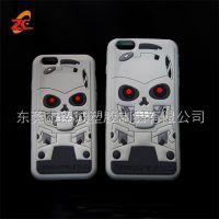 搞怪鬼头苹果7/8plus手机壳创意无脸男5s保护套iphone6幽灵硅胶